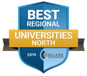 Logo for the Best Regional Universities North away from College Consensus