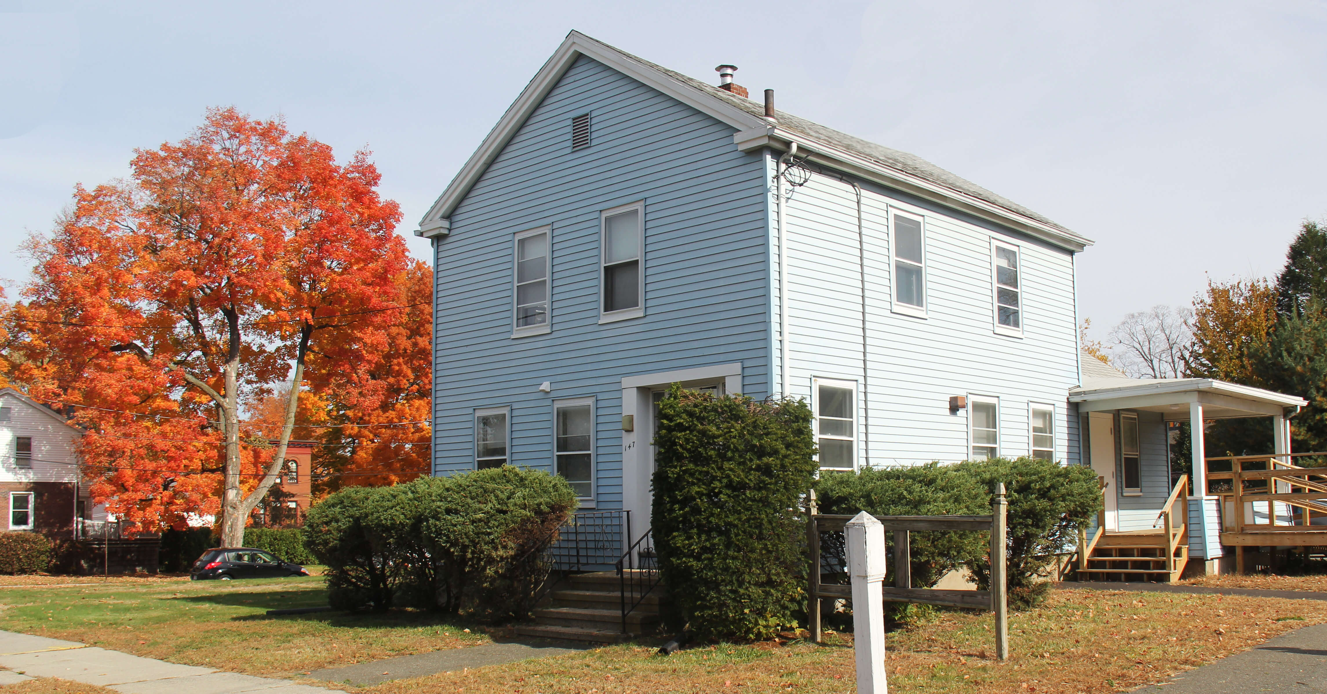 Photo of the Blue House